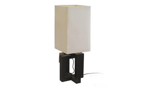 Tafellamp Layer Loft Square zwart