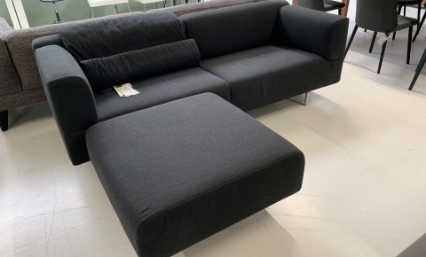 Cassina Sofa + Pouf