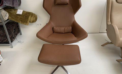 fauteuil + poef Metropolitan