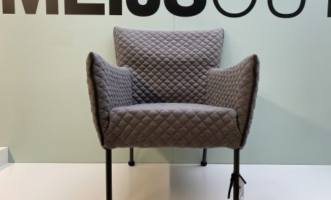 "Label ""togo"" fauteuil – stof Cross"