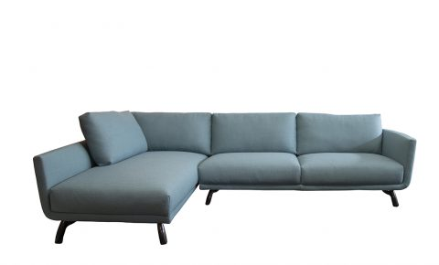 "Design on Stock hoekbank ""byen"" blauw/groen"
