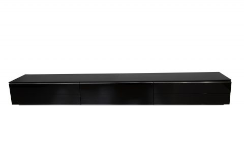 tv dressoir B&B Italia zwart