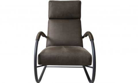 "Label fauteuil ""speedster"" in yak leer"
