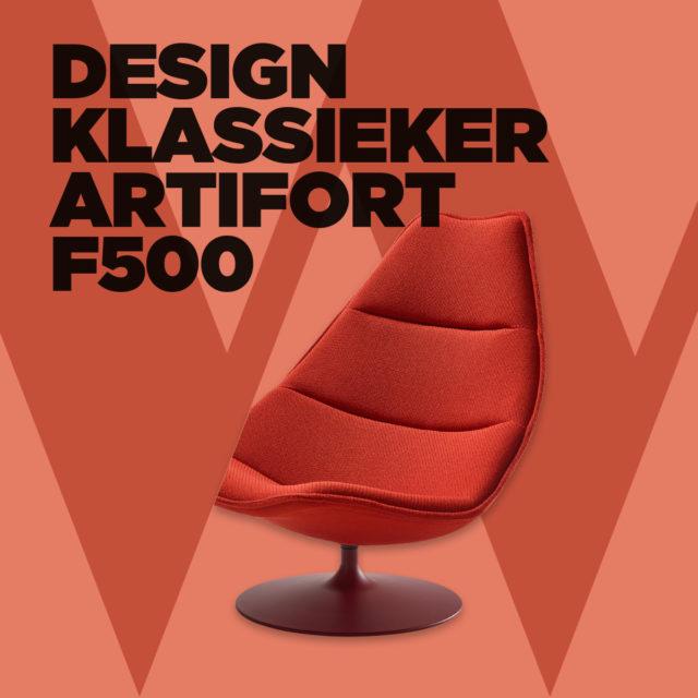 Runnerprijs op de design klassieker F500 serie van artifort